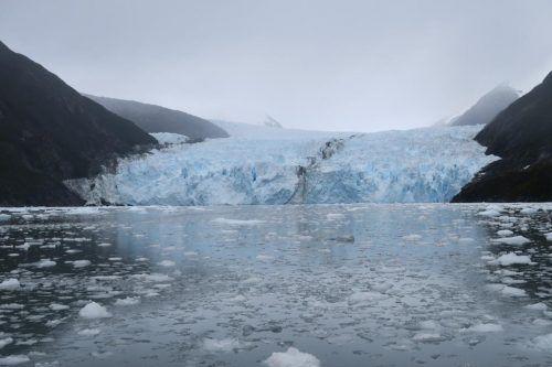 Gletscher im Garibaldi Fjord