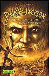 Percy Jackson 4 Die Schlacht um das Labyrinth -Rick Riordan