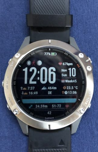 Fenix 6 Pro Sapphire Titan