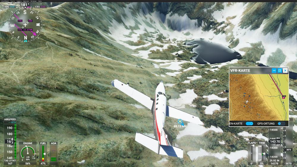 Flight Simulator 2020 - Mount Whitney