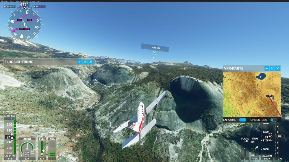 Flight Simulator 2020 - Yosemite Valley?