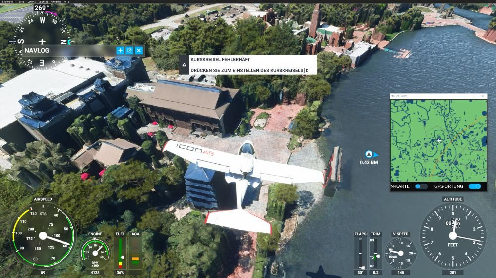 Flight Simulator 2020 - Epcot World Showcase