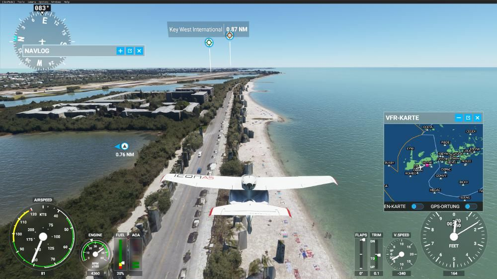 Flight Simulator 2020 - Florida Keys