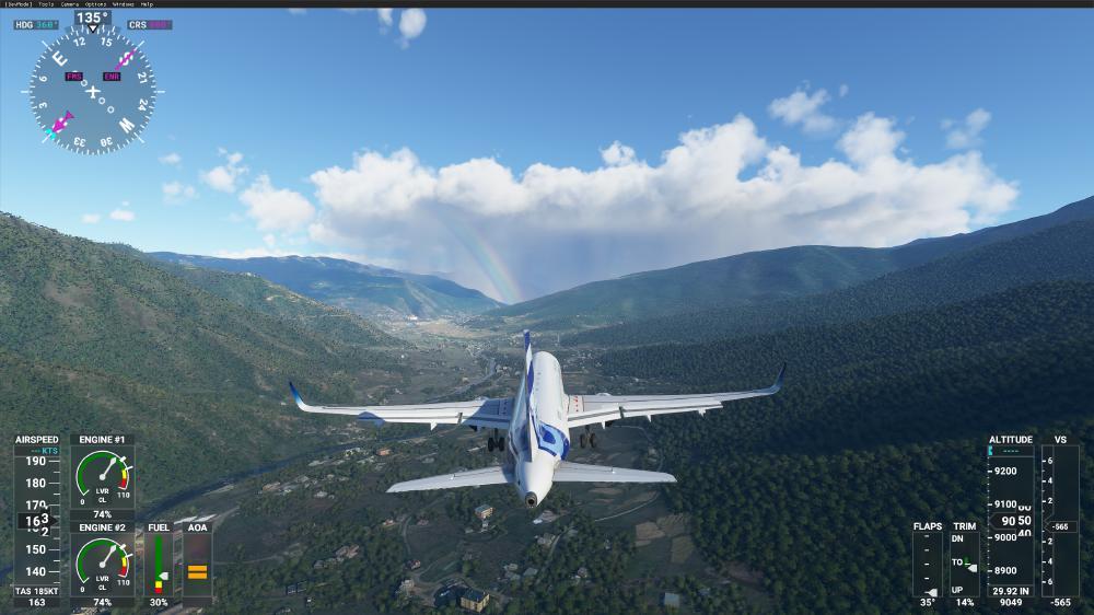 Flight Simulator 2020 - Airbus. Der Fliegt sich wie ein Panzer