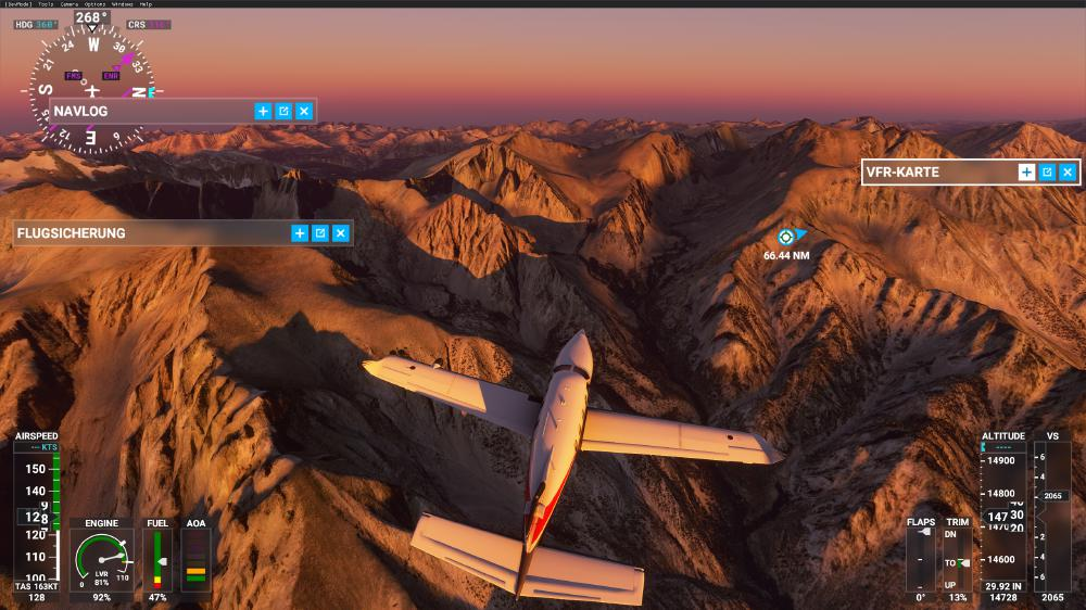 Flight Simulator 2020 - High Sierras
