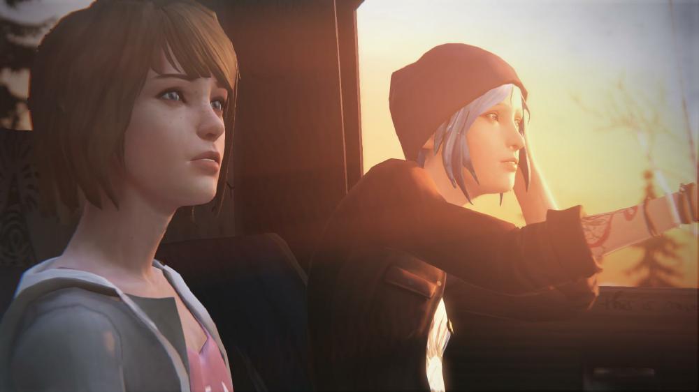Life Is Stange Autoszene Max und Chloe