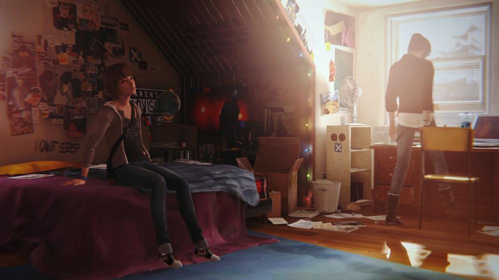 Life is Strange Zimmer von Chloe mit Max und Chloe
